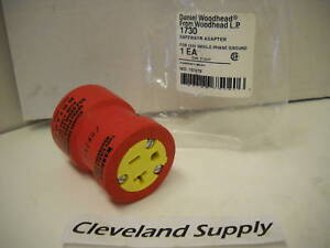 Daniel Woodhead Cat 1730 Safeway Adapter 125vac Nip