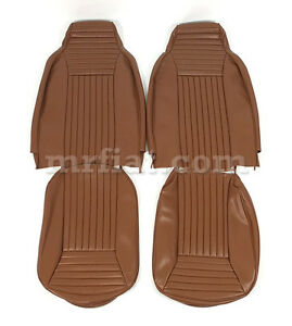 Fiat 850 Sport Spider Brown Seat Covers New