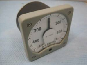 4809 Westinghouse Kx 241 Amp Amperes Meter 3 85450 400 To 400a Nos