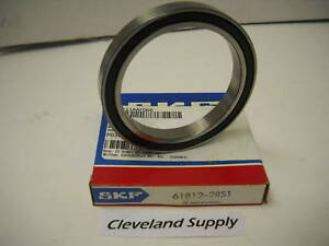 Skf 61812 2rs1 Double Sealed Ball Bearing 60 X 78 X 10mm New Condition In Box