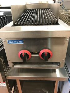 New Radiant Char Broiler Gas Grill 14