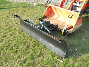 Compact Tractor Snow Plow Fits Kubota John Deere And