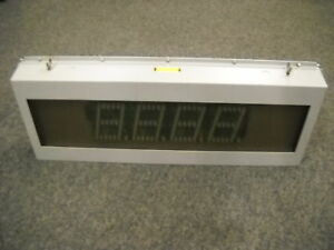 American Led gible So 5682 004 4 digit Display Panel 6 5 Digits New Condition