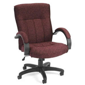 Mid Back Executive Manager Fabric Office Chair