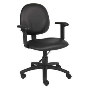 Ergonomic Black Caressoft Task Desk Office Chair