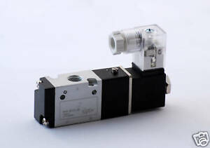 1pc 3 Way Air Solenoid Valve 1 8 Npt Normally Closed Mettleair 3v110 06 dc12