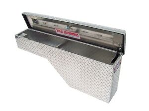 Truck Tool Box Extra Wide Pork Chop Driver Side