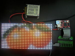 Led Rgb Full Color Message Display Scrolling Sign Diy