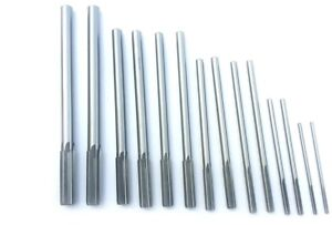 14pc High Speed Steel Chucking Reamers New Set