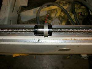 Y Axis Ballscrew From 1998 Busellato Optima