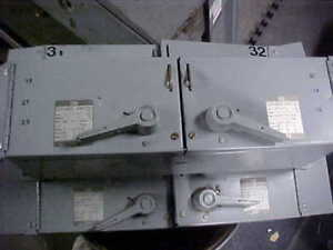 Westinghouse Fdpwt3611r Panel Switch 30a 600v Ps 4