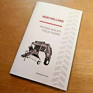 New Holland Round Baler Baling Guide Manual 846 851 852