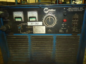 Miller Deltaweld Dc Arc Welding Source