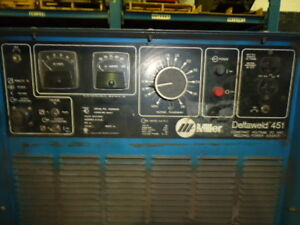 Miller Deltaweld 451 Dc Arc Welding Source