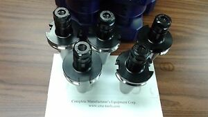 Cat40 er16 Collet Chuck 5 Chucks Tool Holder Set