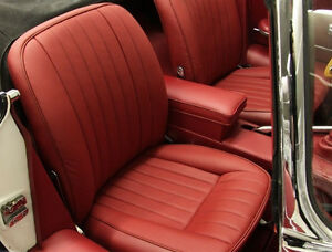 Jaguar Xke E Type 1961 1974 Leather Seat Cover Replacement