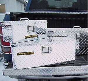 24 Tote Atv Truck Tool Box Diamond Plate