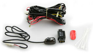 H1 H3 Universal Fog Light Wire Harness Kit W Switch
