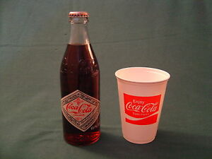 COCA COLA 75TH ANNIVERSARY BOTTLE LOUISVILLE KY CUP 1976 ORIGINAL VINTAGE