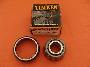 New Old Stock Timken Tapered Roller Bearing 411626 01 ae
