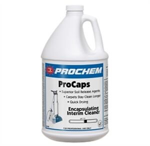 Carpet Cleaning Prochem Procaps Encapsulation Cleaner