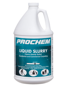 Carpet Cleaning Prochem Liquid Slurry
