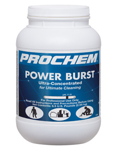 Carpet Cleaning Prochem Powerburst 6 5lb Jar