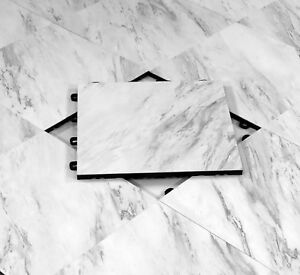 Portable Event Flooring 18 x18 White Marble Style