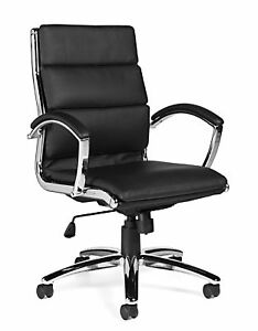 Lot Of 8 Otg11648b Conference Room Table Chairs