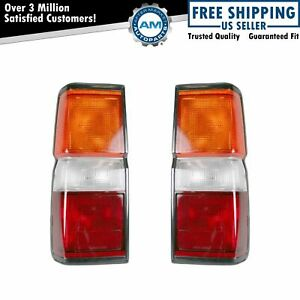 Taillight Taillamp Pair For Nissan Pathfinder 87 93 94 95