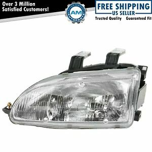 Headlight Headlamp Driver Side Left Lh New For 92 95 Honda Civic
