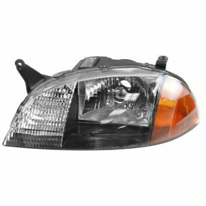 Headlight Headlamp Driver Side Left Lh New For 98 01 Geo Metro Firefly