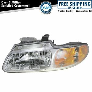 Headlight Headlamp Driver Side Left Lh New For 96 99 Grand Caravan Voyager