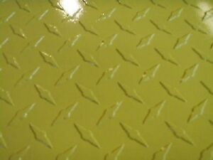 Aluminum Diamond Plate Powder Coat 045 X24 x48 Yell