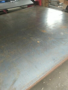Hot Rolled Steel Plate Sheet A 36 1 8 X 24 X 48
