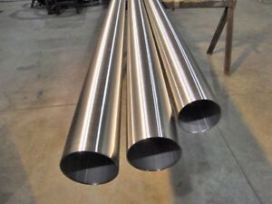 Stainless Steel Round Tube Polished 1 250 X 065 X 90