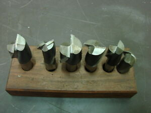 End Mills 1 Ball Mill Lot Of 5
