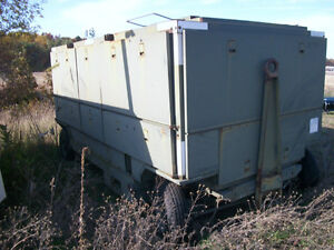 Military Trailer Mounted Air Conditioner Type Ma 3 Refrigerant R 12 Sun Strand