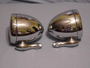 Chrome Dummy Spot Lights 1 Pair