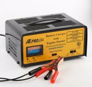 2 10 55 Amp Battery Trickle Charger Engine Starter Automotive Tools Car Rv Boat