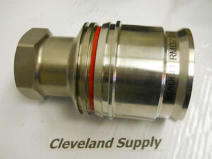 Staubli Rm137 Ea Stainless Hydraulic Disconnect Coupling New Condition In Box