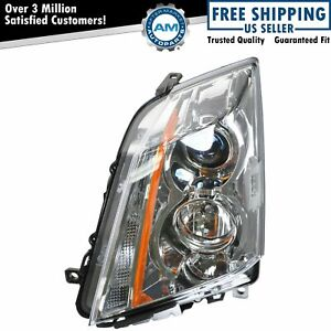 Halogen Headlight Headlamp Driver Side Left Lh For 08 14 Cadillac Cts
