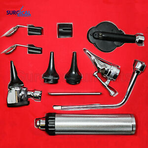 Otoscope Ophthalmoscope Set Ent Surgical Instruments
