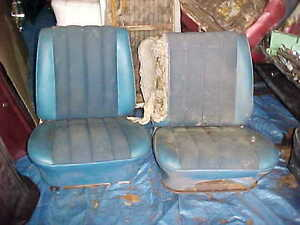 1965 Chevelle Gto Impala Corvair Bucket Seats Used Cores Chevy