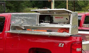 Truck Tool Box 48 Topsider Toolbox With Compartments High Side Top Mount