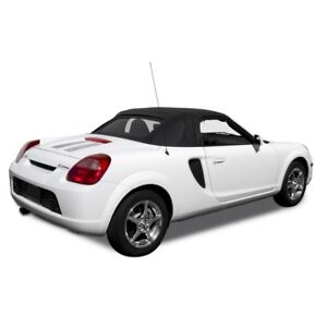 Fits Toyota Mr2 Spyder Spider Convertible Soft Top Glass Window Black Twill