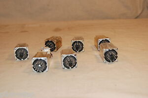 8 Low Voltage Relays 7 Socket Style 1 Board Mount Unknown Uses
