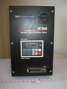 Ac Tech Q24005c Variable Speed Frequency Motor Drive 400 480vac To 0 480 0 120hz