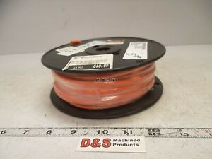 New 100 Spool Alpha Wire 461019 Single Conductor 10awg Mtw 19 Strand Orange
