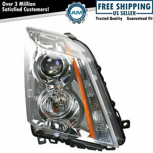 Halogen Headlight Headlamp Passenger Side Right Rh For 08 14 Cadillac Cts